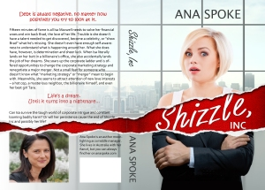 Shizzle, Inc paperback cover 14 November