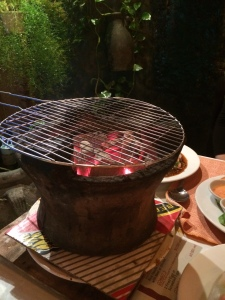 hot coals in Lanterns