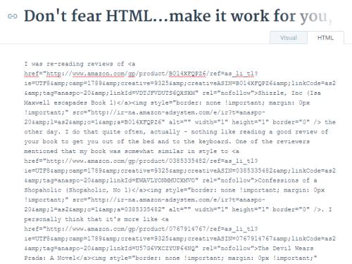 HTML draft