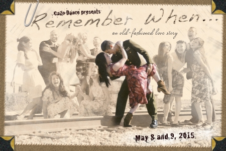 Cazo Dance Flyer - Front